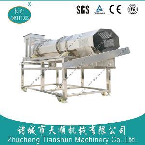 多功能油炸裹衣產品專用TSBL-30自動撒粉拌料機