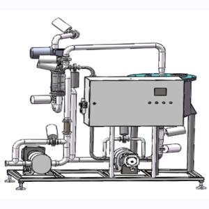 果粒在线自动添加混合机-果粒果酱燕麦添加并与乳品饮料混合系统