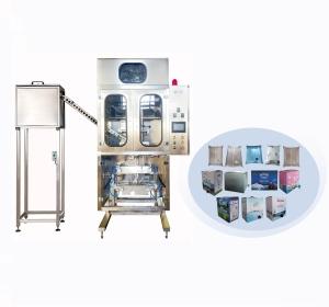 加龙头百级洁净袋装水包装生产线—饮用水盒中袋全自动包装生产线