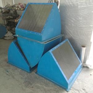 廠家定做方形軸流風機防雨彎頭45度60度90度壁式邊墻風機防雨罩