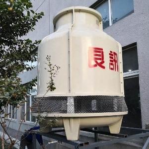 江西圆形8T冷却塔,玻璃钢高强度8T冷却塔价格