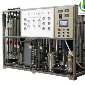制高纯水标准18兆欧 二级RO反渗透水处理设备 EDI超纯水设备