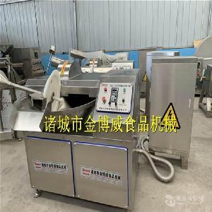 千叶豆腐变频斩拌机  成套设备