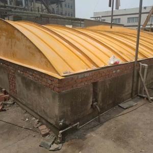 玻璃鋼污水池蓋板 厭氧池玻璃鋼蓋板價格