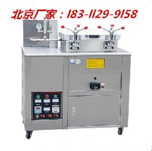 北-京电气两用炸鸭子的炉子-流动电瓶款爆烤鸭炸鸭炉