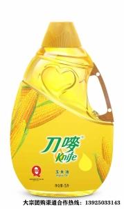 刀唛玉米油团购供应