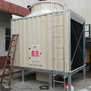 开平闭式方形冷却塔 不锈钢方形冷却塔价格 型号250t