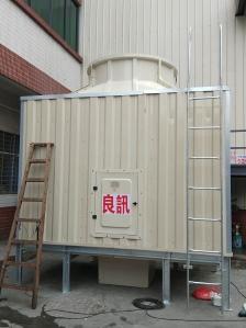 揭阳市密闭式方形冷却塔 低噪音方形冷却塔报价 型号125RT
