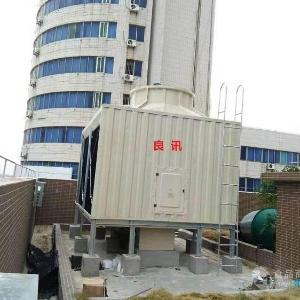 四会市闭式方形冷却塔报价_特殊电压方形冷却塔_型号900T