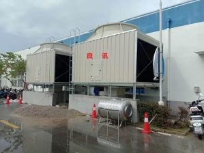 台山市闭式逆流冷却塔 方形冷却塔价格 型号225吨价格