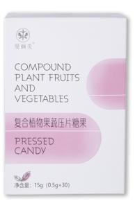 曼丽美复合植物果蔬压片糖果
