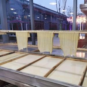 半自动腐竹机制作视频 新乡腐竹机供应厂家