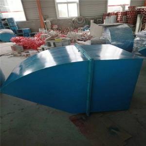 方形壁式軸流風機DFBZ-6.3#配45度防雨罩