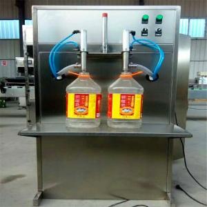 玉米油定量灌装机 活塞式双头灌装机