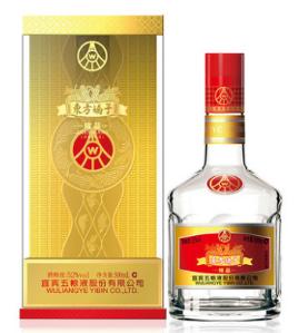 五粮液东方娇子精品52度浓香型白酒