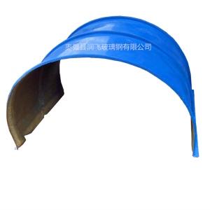 玻璃鋼輸送機防雨罩 帶寬B1000皮帶機防雨罩 玻璃鋼皮帶罩