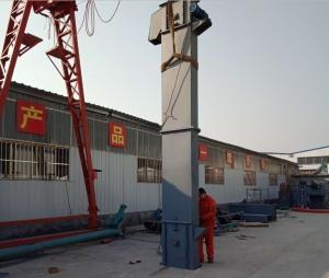 斗提机 定制水泥矿用垂直物料提升机Lj7
