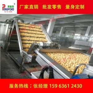 全自动豆泡油炸生产线,浙江油炸豆泡,油豆腐生产线