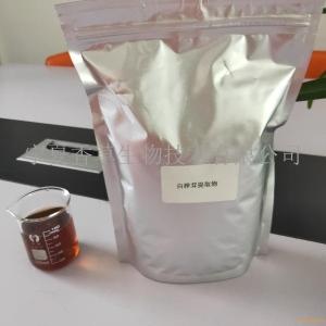 白桦茸多糖25% 桦树菇粉 西伯利亚灵芝速溶粉 现货直销