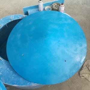 玻璃鋼煙筒防雨帽 室外設備防雨罩 玻璃鋼圓傘形風帽尺寸定做