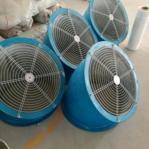 直徑400軸流風機45度防雨罩廠家現貨
