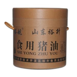 【魯香園豬油】山東煉食用豬油廠家25kg大桶豬油