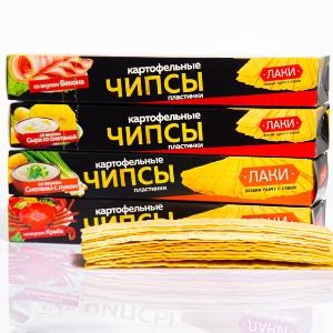 俄罗斯 无敌小幸运薯片 40克/盒