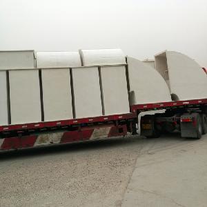 無機玻璃鋼風管500*400-630*250風管無機玻璃鋼材質廠家定做