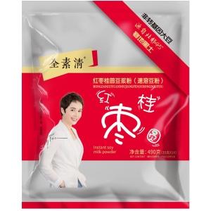 全素清红枣豆浆粉490克