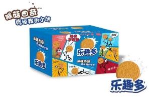 9.9元网红休闲食品猴菇曲奇乐趣多