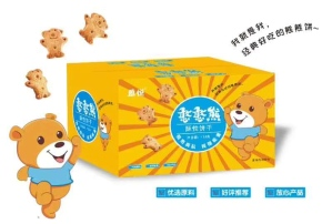 9.9元网红休闲食品憨憨熊酥性饼干
