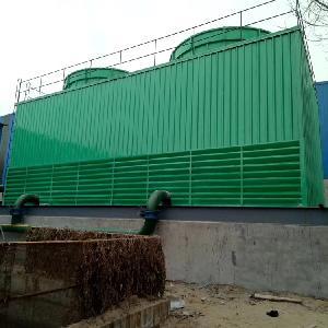 方形逆流式冷卻塔10BNGZ-2000m3/h組合型逆流式冷卻塔維修