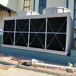 方形橫流式玻璃鋼冷卻塔 空調機組冷卻塔 低噪聲冷卻塔格