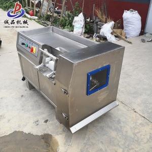550型肉粒肠原料多功能腊肉制品加工 微冻牛肉切丁机