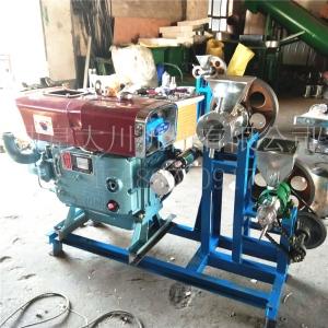 打糖棒机 组合式面粉膨化机自熟配带飞刀膨化机