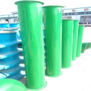 廠家定做耐酸堿玻璃鋼風管價格 手糊玻璃鋼風管 膠衣面玻璃鋼風管