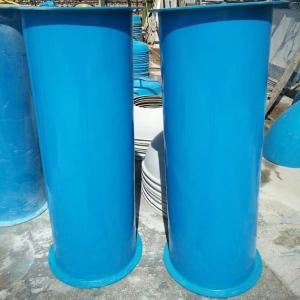 陜西玻璃鋼圓形直風管直徑280mm圓型直風管 90度彎頭