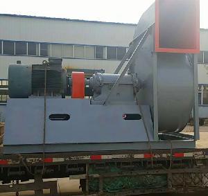玻璃鋼離心風機F4-72-10D-55kw耐腐蝕工業引風機