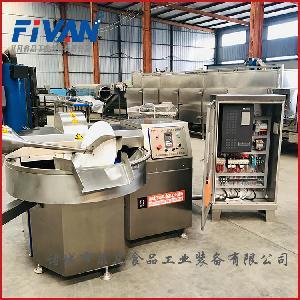 諸城菲凡80型魚豆腐斬拌機生產加工制作設備