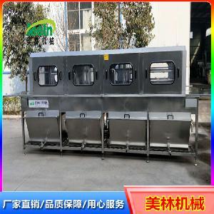 美林高压喷淋洗筐机 多功能料筐隧道式清洗机
