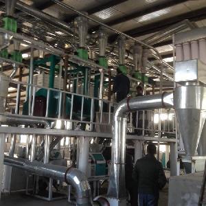 泰兴大型玉米面粉加工机器,磨玉米面的成套机组