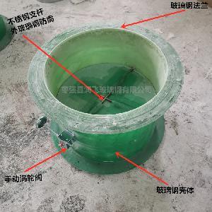 玻璃鋼風閥 玻璃鋼蝶閥 方形手動對開多葉風閥 玻璃鋼圓形風閥