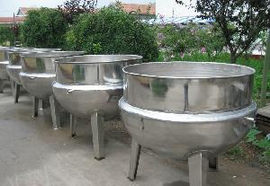 处理二手食品机械夹层锅