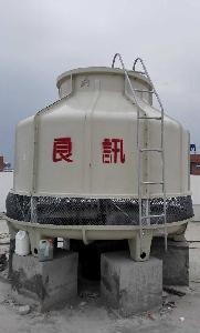 清远加厚玻璃钢防腐冷却塔175T圆形冷却水塔
