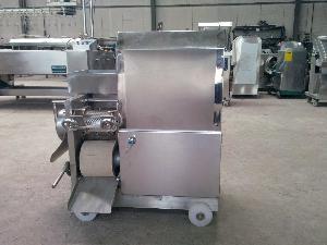 新型150型不锈钢鱼肉采泥机
