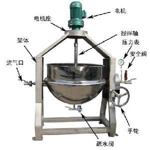 专业回收大厂食品机械夹层锅 出售优质二手夹层锅