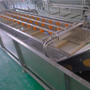 尚丰祥W16 净菜加工生产线 中央厨房 多功能果蔬清洗