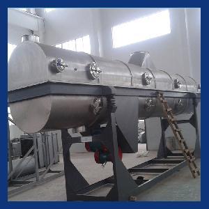 氨基磺酸七水硫酸锌果糖专用ZLG直线振动流化床干燥冷却机设备