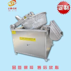 热销油面筋加工设备 全自动油面筋油炸机