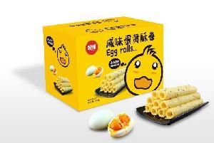 咸味蛋黄酥卷礼盒
